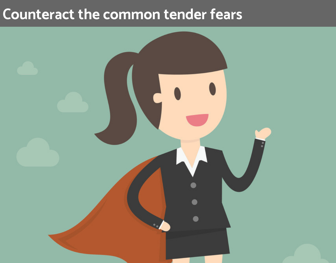 Counteract the common tender fears