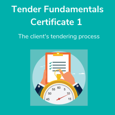 Introductory tender courses - Tender Training College