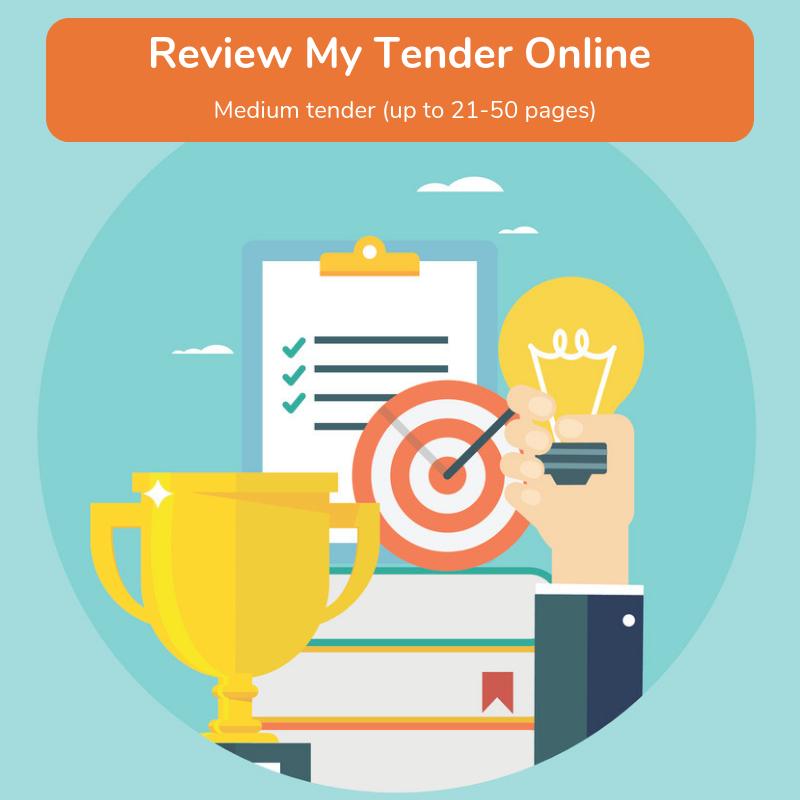 medium tender review package