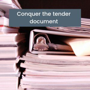 Counteract the common tender fears | Tender Training College