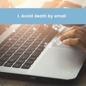 Tender Team Training - Avoid Emails